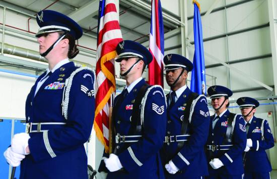 352nd SOW Honor Guard