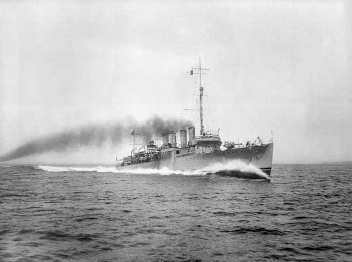 USS Brooks (DD 232)