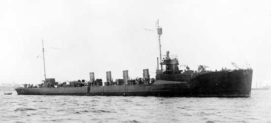 USS Preston