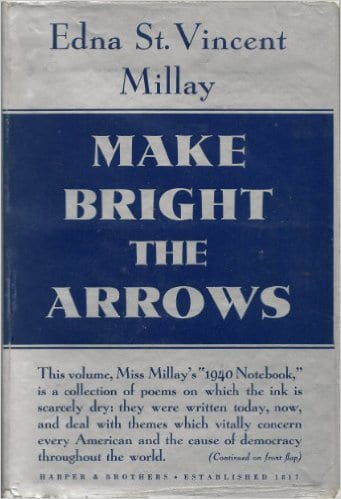 Make Bright the Arrows cover