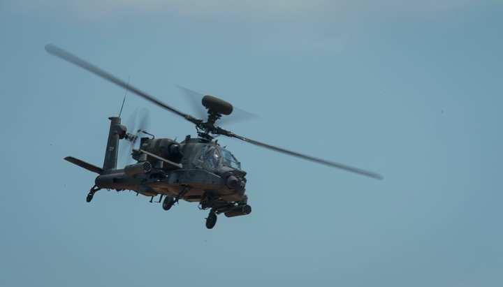 laser aboard AH-64 Apache