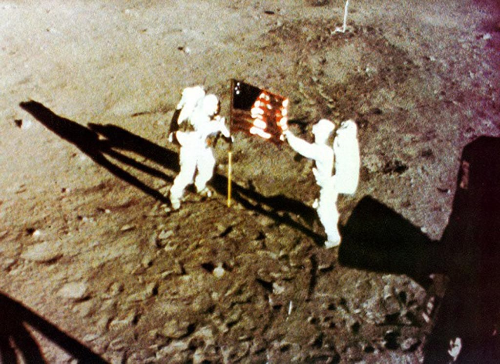 Apollo 11 Armstrong and Aldrin