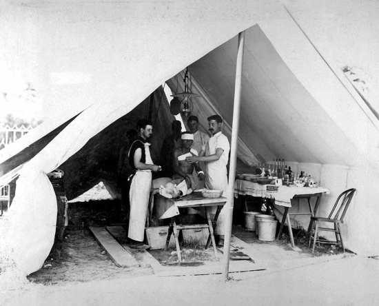 AMSUS field hospital