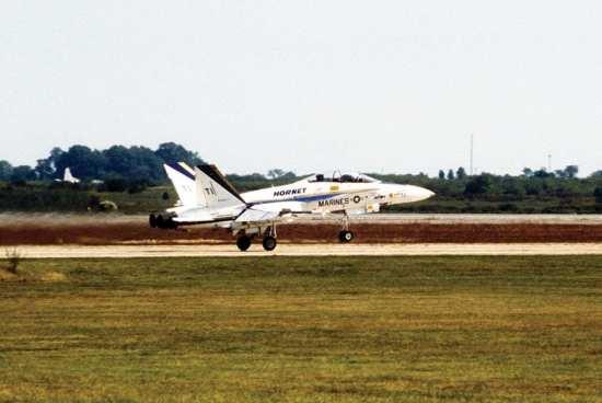 navair fa-18b prototype
