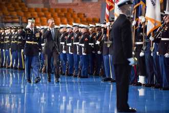 obama farewell ceremony