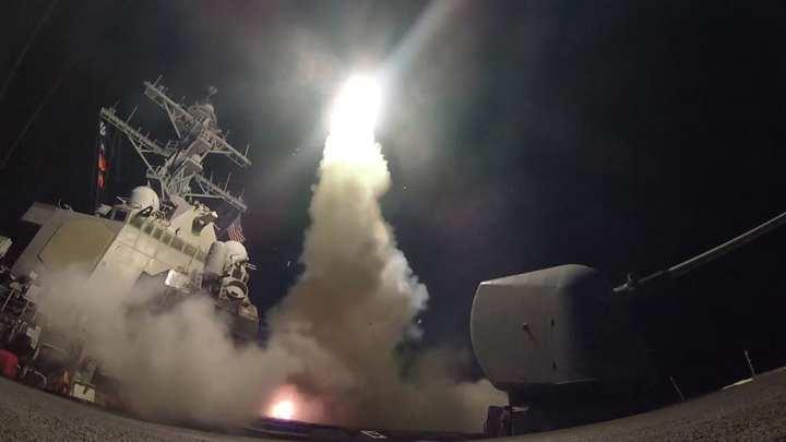 tomahawk launch syria