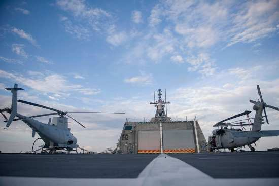 mh-60 and fire-scout