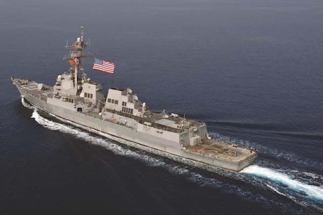 USS Jason Dunham Transits 5th Fleet AOR