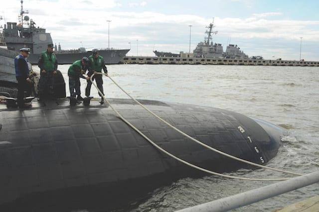 USS Norfolk (SSN 714) Homecoming 2013