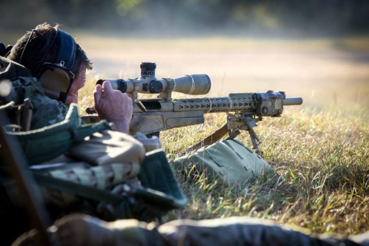 Sniper ejects round