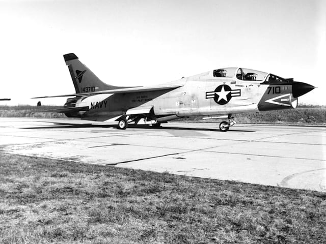 Vought F8U-1T Crusader