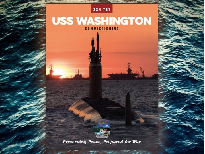 USS Washington (SSN 787) Commissioning Publication, Read it Now