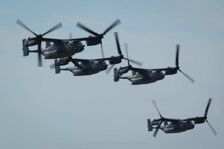V-22 formation AFSOC