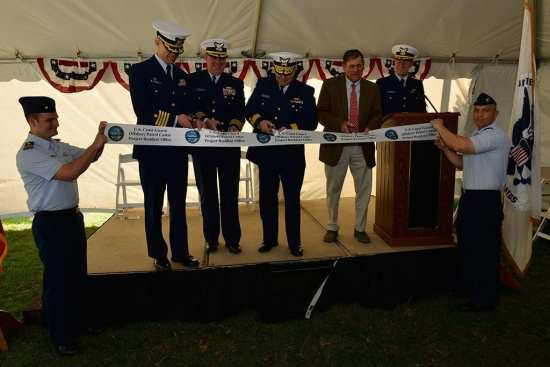offshore patrol cutter ribbon cutting