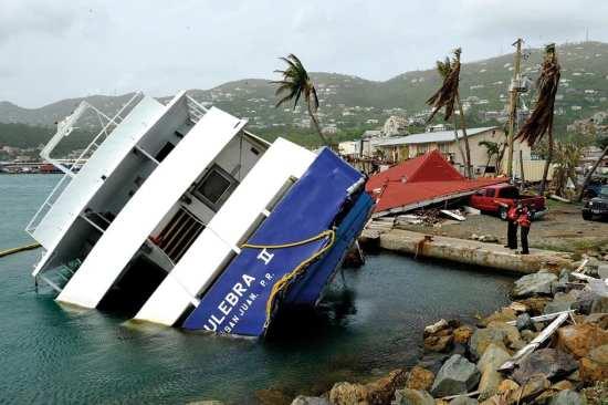 Sunken vessel