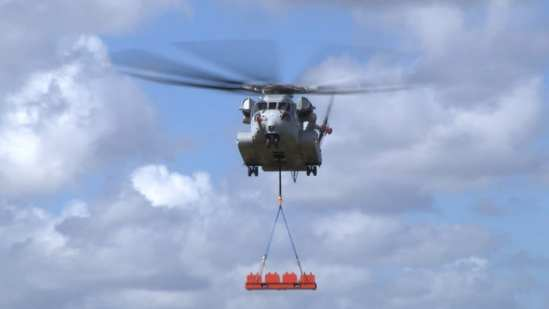 CH-53K King Stallion 36,000-pound External Lift | Video