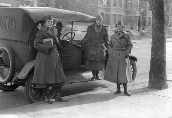 Women's radio corps