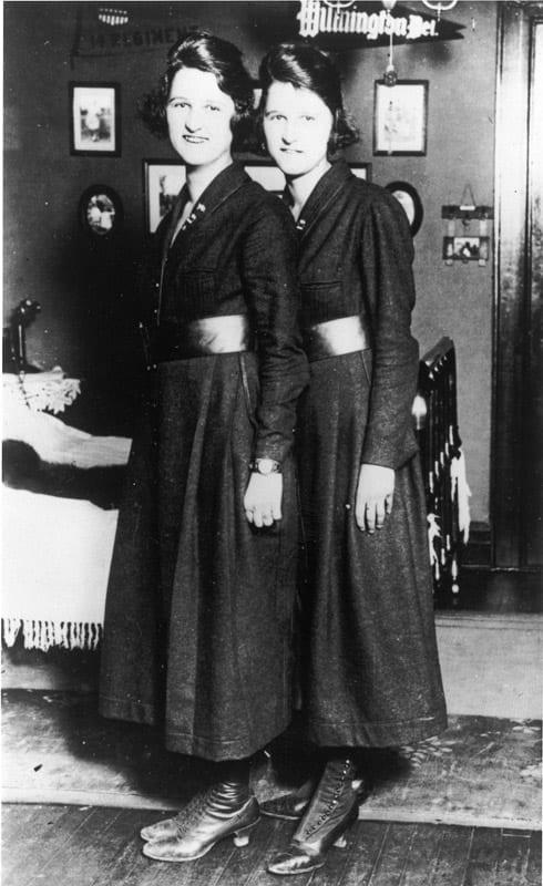 Baker sisters USCG women