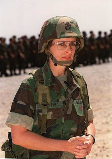 Carol Mutter women in the Marine Corps