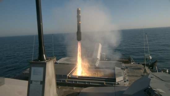 LCS Fires Longbow Hellfire Missile | Video