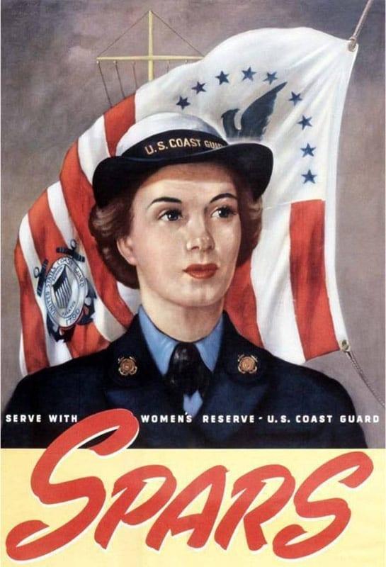 SPARs poster USCG women
