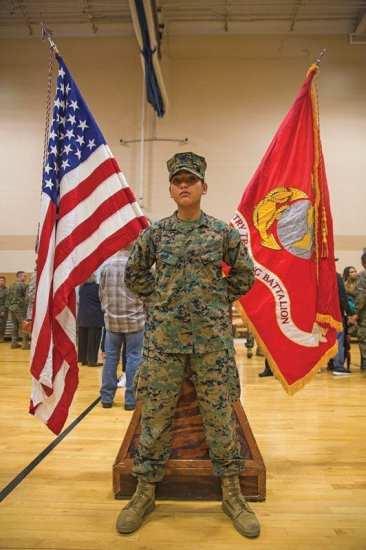 Yolanda Vigil women in the Marine Corps