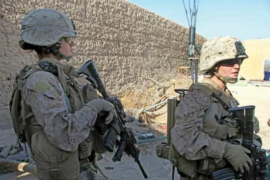 female engagement team women in the Marine Corps