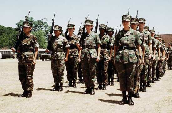 first all female platoon women in the Marine Corps