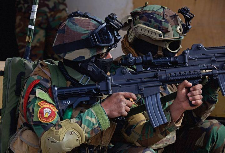 Iraqi special forces international special operations