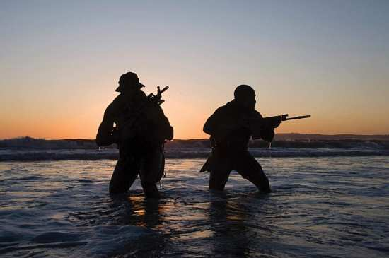 SEAL training Rear Adm. Tim Szymanski