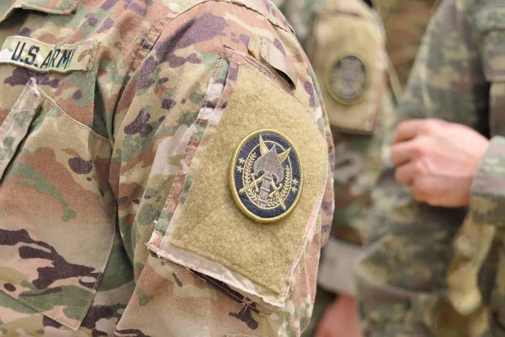 SOJTF OIR patch international special operations