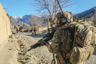 Special Forces soldier Afghanistan Lt. Gen. Kenneth E. Tovo