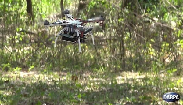 The Fast Lightweight Autonomy (FLA) program is exploring nontraditional machine- vision and autonomy methods to empower high-speed navigation in cluttered environments for small, autonomous UAVs. DARPA image