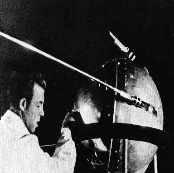 On Oct. 4, 1957, Sputnik 1 was successfully launched and entered Earth's orbit. Thus began the Space Age. The successful launch shocked the world, giving the former Soviet Union the distinction of putting the first human-made object into space. The surprise advance by the United States' Cold War nemesis helped catalyze the establishment of ARPA in February 1958. (NASA PHOTO/ASIF A. SIDDIQI)