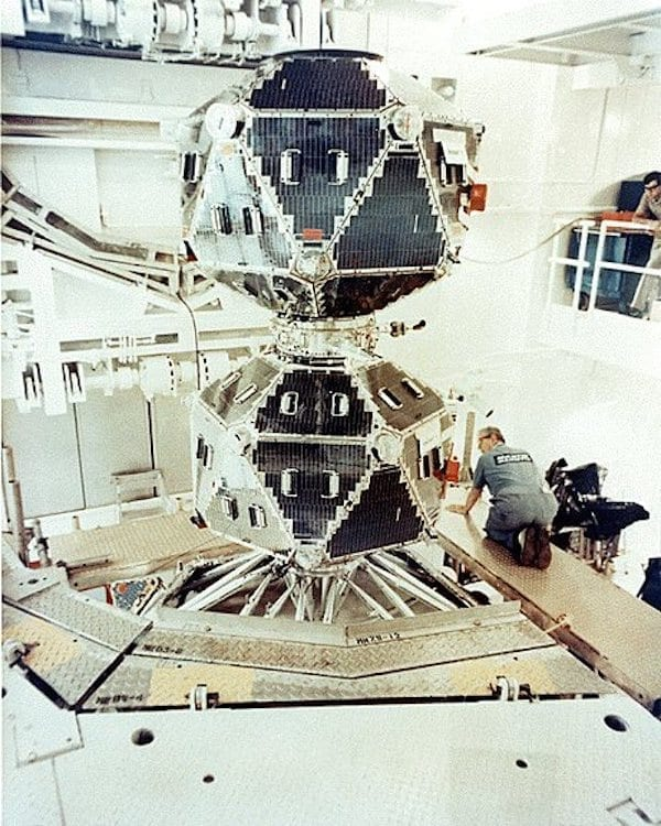 The ARPA Vela program developed sensors to detect nuclear explosions in space, the upper atmosphere, and underwater to support the 1963 Limited Nuclear Test Ban Treaty, under which the United States, Great Britain, and the Soviet Union banned atmospheric tests of nuclear weapons. (DARPA IMAGE)
