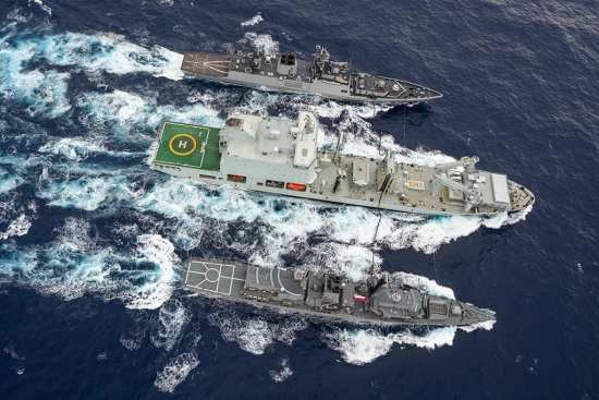 Asterix RAS during RIMPAC