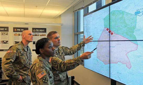 Command Post Computing Environment DARPA web