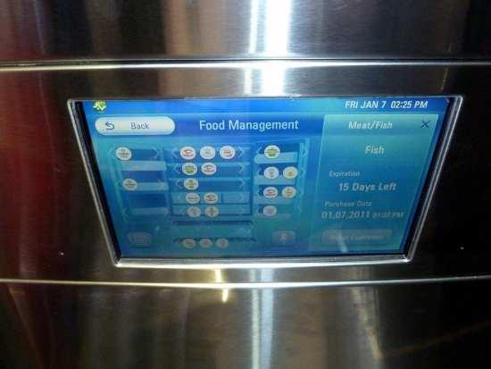 LG smart refrigerator DARPA web