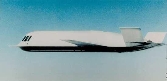 Tacit Blue X-planes DARPA web