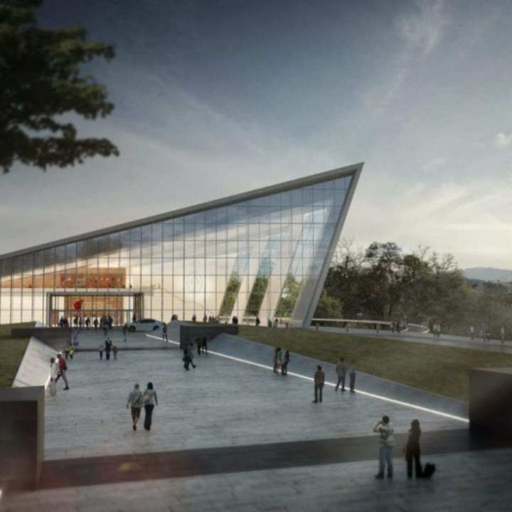 Rendering of the National Museum of Intelligence and Special Operations PRNewsfoto/The OSS Society, Inc.