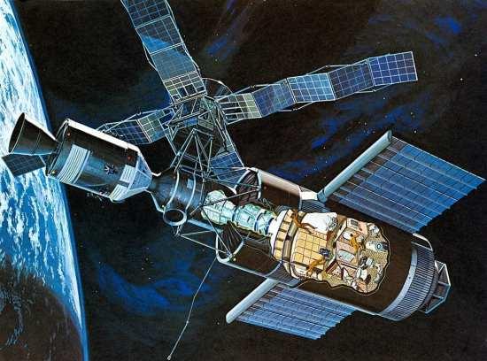 Skylab cutaway