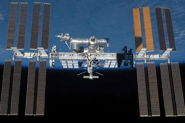final configuration of space station ISS web