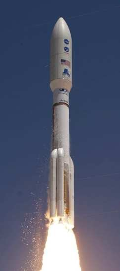 Atlas V rocket ISS web