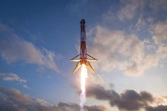 SpaceX Falcon 9 rocket Earth return ISS web