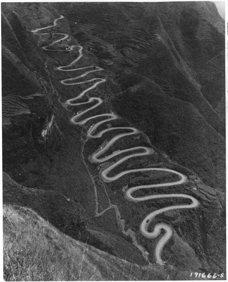 The Ledo road, built from India to China, across northern Burma, was made possible by the results of the 1944 campaign