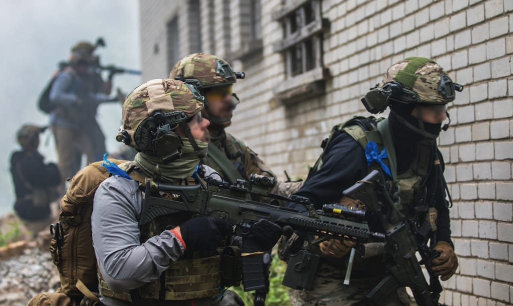 Estonian and U.S. SOF, during exercise Trojan Footprint 18 in Estonia, June 2, 2018. Approximatelly 2,000 special operations forces and armed forces personnel deployed to the Baltic region for the exercise