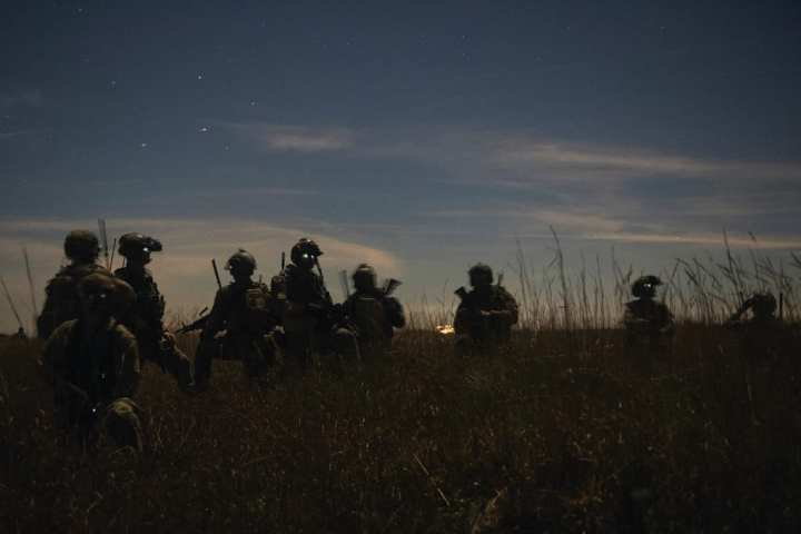 HYPER ENABLED OPERATOR Special Tactics operators with the 23rd Special Tactics Squadron, Hurlburt Field, Florida, wait for exfiltration during a scenario as part of Emerald Warrior 19.1 at Avon Park, Florida, Jan. 16, 2019. From TALOS to the Hyper Enabled Operator, SOCOM's goal is to maximize the individual operator's combat effectiveness