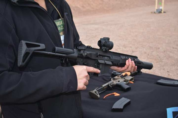 Following its participation in USSOCOM's ISOF Range Day event, the Maxim Defense PDX appeared on the SHOT Show range