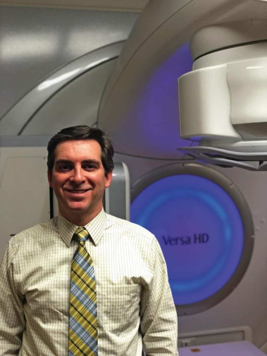 Dr. William E. Jones, III, chief of radiation oncology at South Texas Veterans Health Care System.
