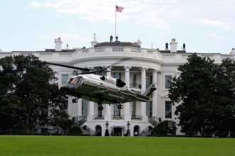 The VH-92A helicopter completed operational testing that included operating on the south lawn of The White House in September 2018. Photo courtesy of the U.S. Marine Corps.